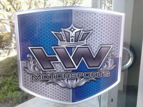 HW Motorsports new shop logo